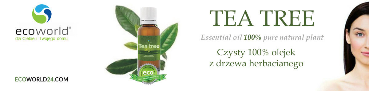 Olejek herbaciany Tea Tree Oil